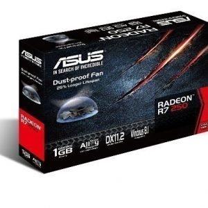 Videocard-PCI-Express-AMD Asus Radeon R7 250 1GB DDR5 DVI HDMI PCIe