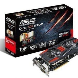 Videocard-PCI-Express-AMD Asus Radeon R9 270X 2GB DDR5 2xDVI HDMI DisplayPort PCIe