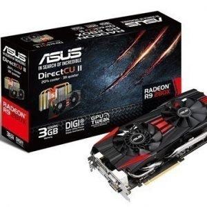 Videocard-PCI-Express-AMD Asus Radeon R9 280X 3GB DDR5 2xDVI HDMI DisplayPort PCIe