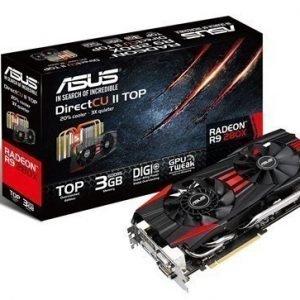 Videocard-PCI-Express-AMD Asus Radeon R9 280X TOP 3GB DDR5 2xDVI HDMI DisplayPort PCIe