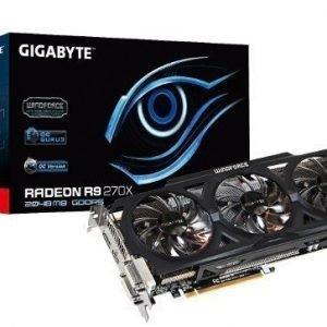 Videocard-PCI-Express-AMD Gigabyte Radeon R9 270X OC 2GB DDR5 2xDVI HDMI DisplayPort PCIe