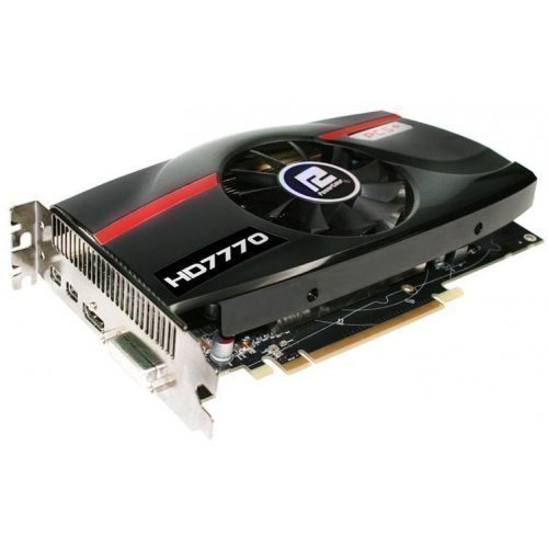 Videocard-PCI-Express-AMD PowerColor Radeon HD7770 1GB DDR5 DVI HDMI 2xDisplayPort PCIe