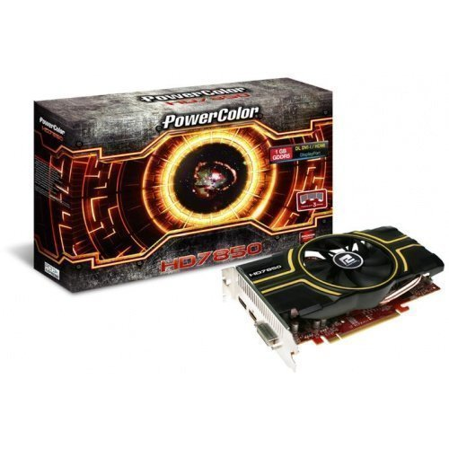 Videocard-PCI-Express-AMD PowerColor Radeon HD7850 1GB DDR5 DVI HDMI DisplayPort PCIe