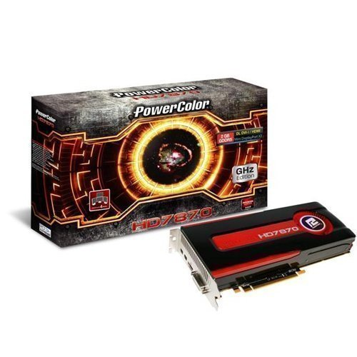 Videocard-PCI-Express-AMD PowerColor Radeon HD7870 2GB DDR5 DVI HDMI 2xDisplayPort PCIe