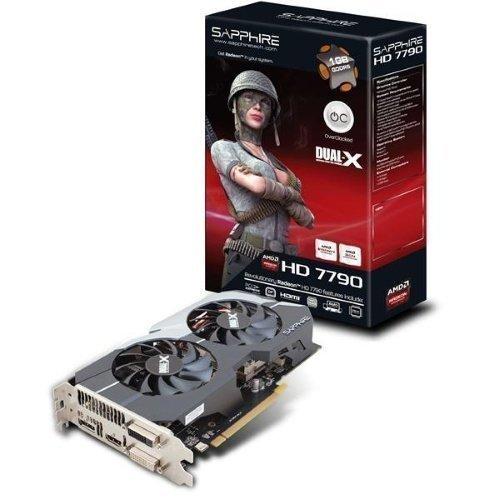 Videocard-PCI-Express-AMD Sapphire Radeon HD7790 OC 1GB DDR5 2xDVI HDMI DisplayPort PCIe