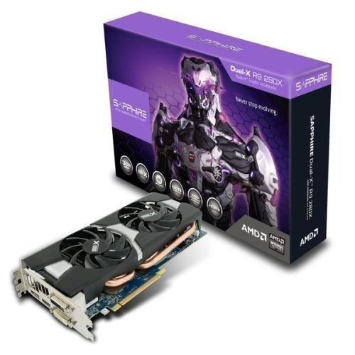 Videocard-PCI-Express-AMD Sapphire Radeon R9 280X OC DUAL-X 3GB DDR5 2xDVI HDMI DisplayPort Full Retail PCIe