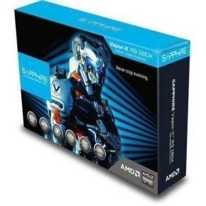 Videocard-PCI-Express-AMD Sapphire Radeon R9 280X OC VAPOR-X 3GB DDR5 2xDVI HDMI DisplayPort Full Retail PCIe