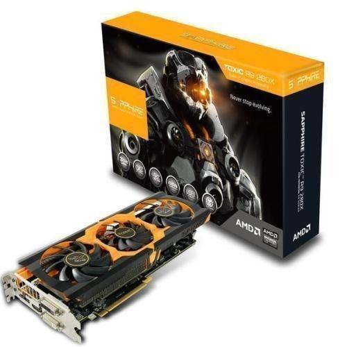 Videocard-PCI-Express-AMD Sapphire Radeon R9 280X TOXIC 3GB DDR5 2xDVI HDMI DisplayPort Full Retail PCIe