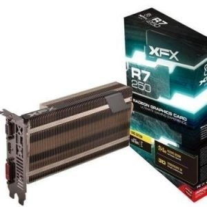 Videocard-PCI-Express-AMD XFX Radeon R7 250 1GB DDR5 Passive DVI HDMI PCIe