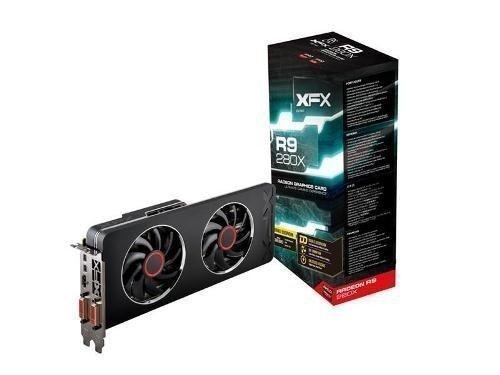 Videocard-PCI-Express-AMD XFX Radeon R9 280X 3GB DDR5 2xDVI HDMI 2xMini DisplayPort PCIe