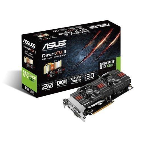 Videocard-PCI-Express-NVIDIA Asus GeForce GTX 660 DirectCU II 2GB DDR5 2xDVI HDMI DisplayPort PCIe
