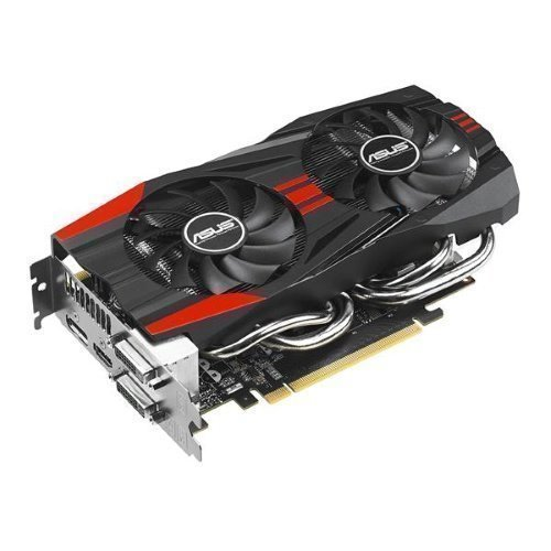 Videocard-PCI-Express-NVIDIA Asus GeForce GTX 760 2GB DDR5 2xDVI/HDMI/DisplayPort Fan