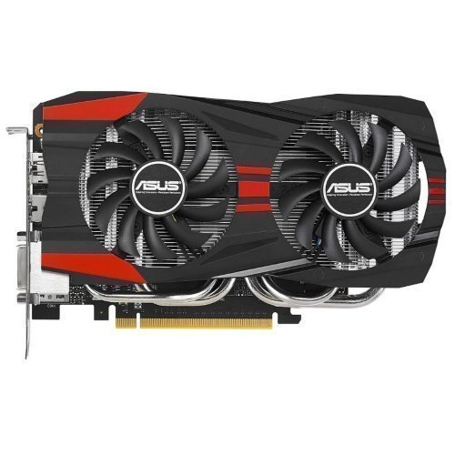 Videocard-PCI-Express-NVIDIA Asus GeForce GTX 760 OC 2GB DDR5 2xDVI HDMI DisplayPort PCIe