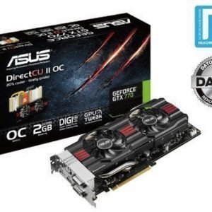 Videocard-PCI-Express-NVIDIA Asus GeForce GTX 770 2GB DDR5 2xDVI HDMI DisplayPort PCIe