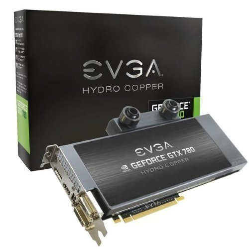 Videocard-PCI-Express-NVIDIA EVGA GeForce GTX 780 Hydro Copper 3GB DDR5 2xDVI HDMI DisplayPort PCIe