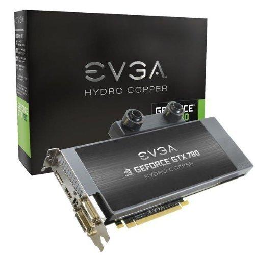 Videocard-PCI-Express-NVIDIA EVGA GeForce GTX 780 Hydro Copper 3GB DDR5 2xDVI HDMI DisplayPort PCIe