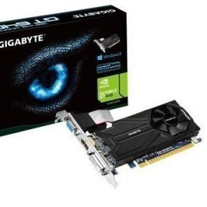 Videocard-PCI-Express-NVIDIA Gigabyte GeForce GT 640 1GB DDR5 DVI VGA HDMI PCIe