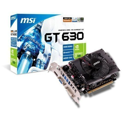 Videocard-PCI-Express-NVIDIA MSI GeForce GT 630 4GB DDR3 DVI VGA HDMI PCIe