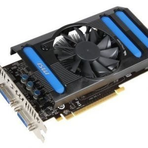 Videocard-PCI-Express-NVIDIA MSI GeForce GTX 650 OC 1GB DDR5 2xDVI HDMI PCIe