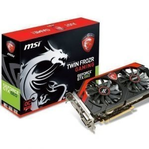 Videocard-PCI-Express-NVIDIA MSI GeForce GTX 660 OC 2GB DDR5 2xDVI HDMI DisplayPort PCIe
