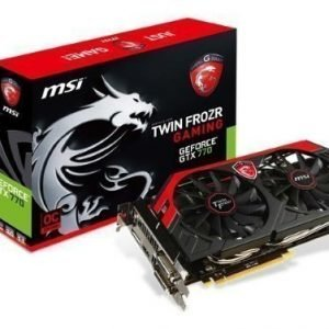 Videocard-PCI-Express-NVIDIA MSI GeForce GTX 770 OC 4GB DDR5 2xDVI HDMI DisplayPort PCIe