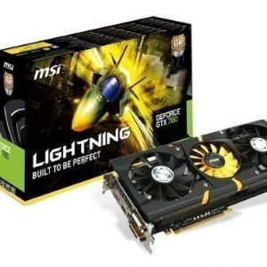 Videocard-PCI-Express-NVIDIA MSI GeForce GTX 780 Lightning 3GB DDR5 2xDVI HDMI DisplayPort PCIe