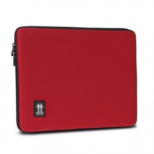 Walk On Water Laptop Sleeve 13'' Red
