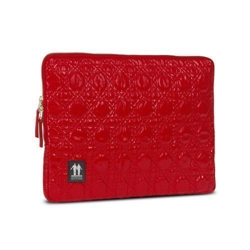 Walk On Water Laptop Sleeve 13'' Rock n Roll Red