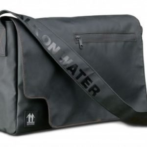 Walk On Water Walk On Water Messenger Bag Black Rubber 15''