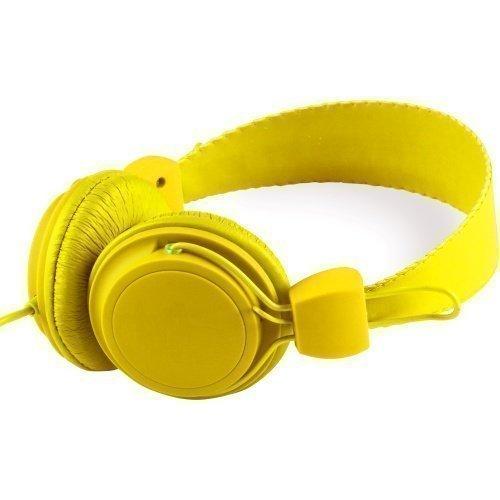 WeSC Matte Conga On-ear Dandelion Yellow