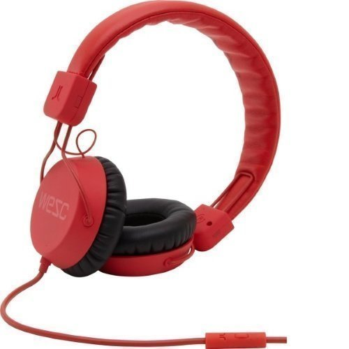 WeSC Piston On-ear Bright Red
