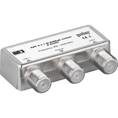 Wentronic SAT 2x1 W DiSEqC 2.0 Switch