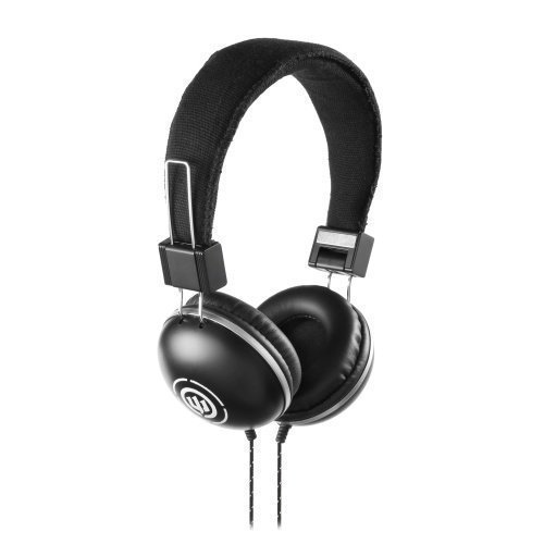 Wicked Audio Evac On-Ear with Mic1 Black