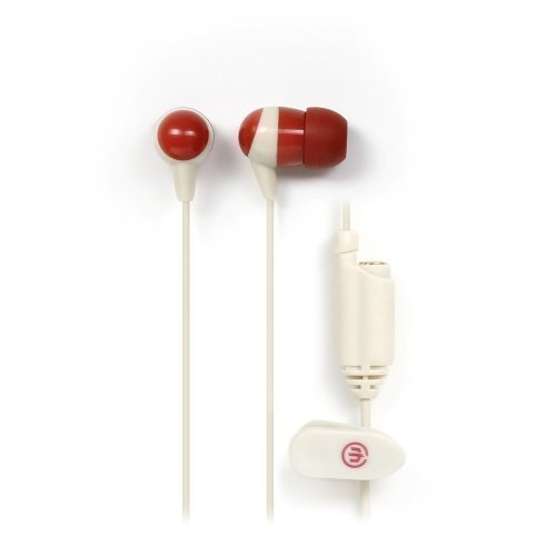 Wicked Audio Heist Rust/Ivory In-ear