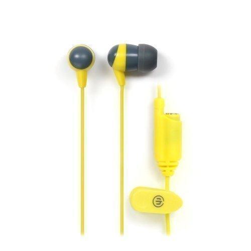 Wicked Audio Heist Slate/Electric Yellow In-ear