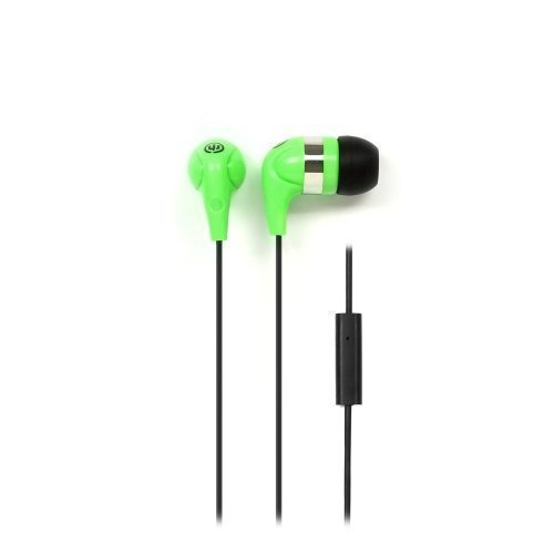 Wicked Audio JawBreakers In-Ear with Mic1 Green