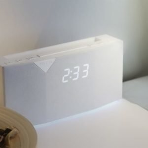 Witti BEDDI Intelligent Alarm Clock White