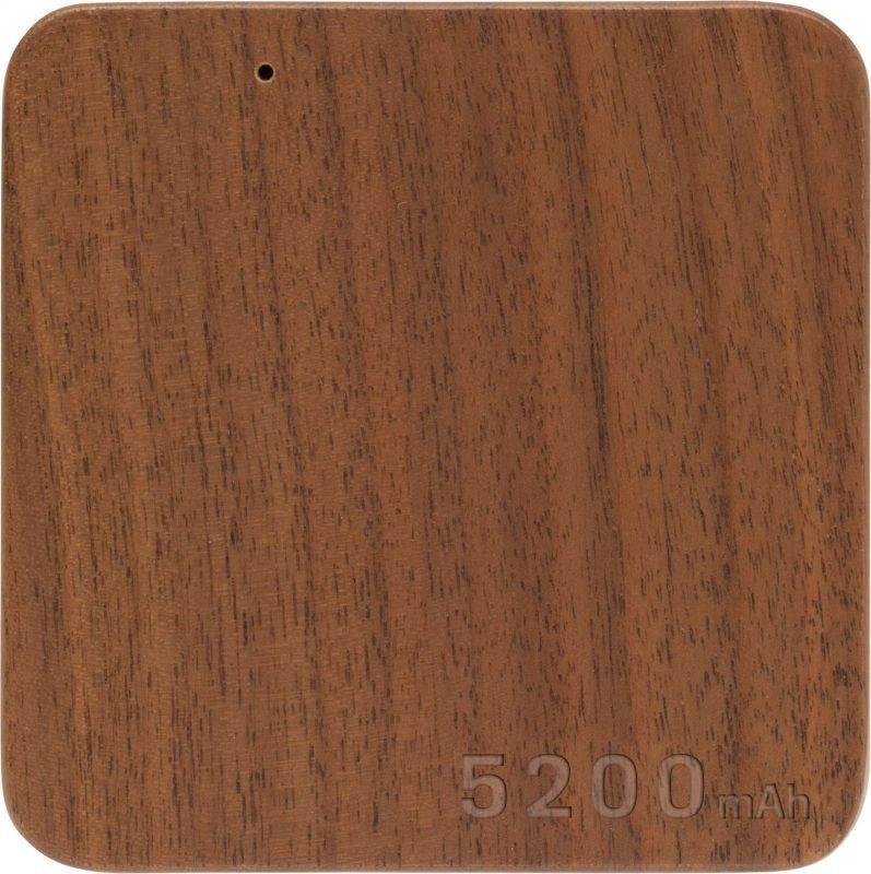 Wood Power Bank 5200mAh