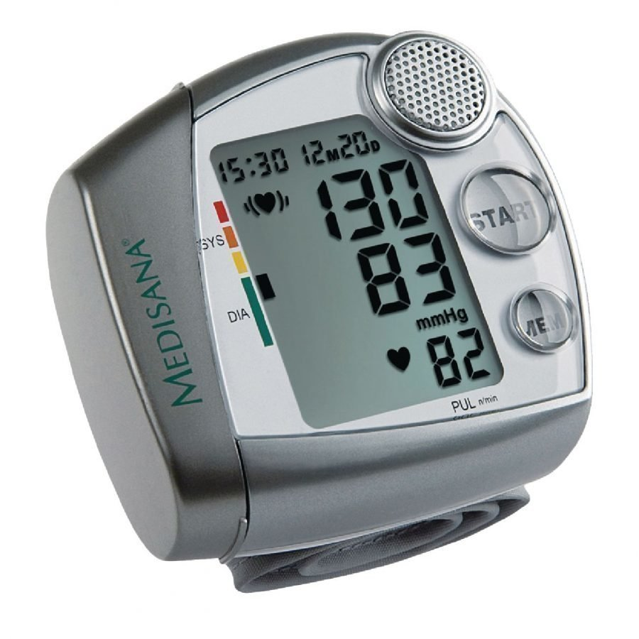 Wrist blood pressure monitor HGV with voice output
