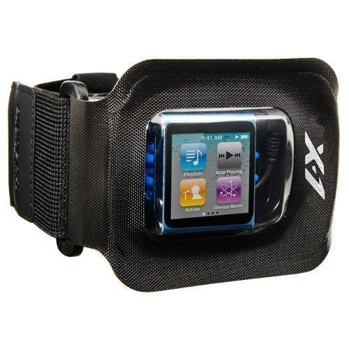 X-1 Audio Amphibx Fit Waterproof Case for iPod Shuffle & Nano Small