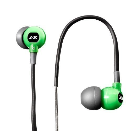 X-1 Audio Momentum Trax Green In-ear Sport