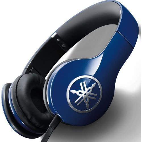 Yamaha HPH-PRO300 On-Ear with Mic3 for iPhone Blue