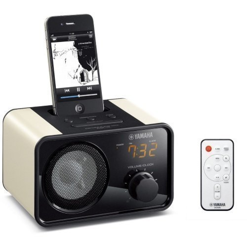 Yamaha PDX-13 Beige Radio iPod Docking