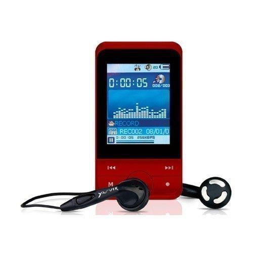 Yarvik Joy Media Player 4GB Red