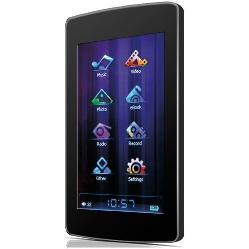 Yarvik Maxm Media Player 4GB Black