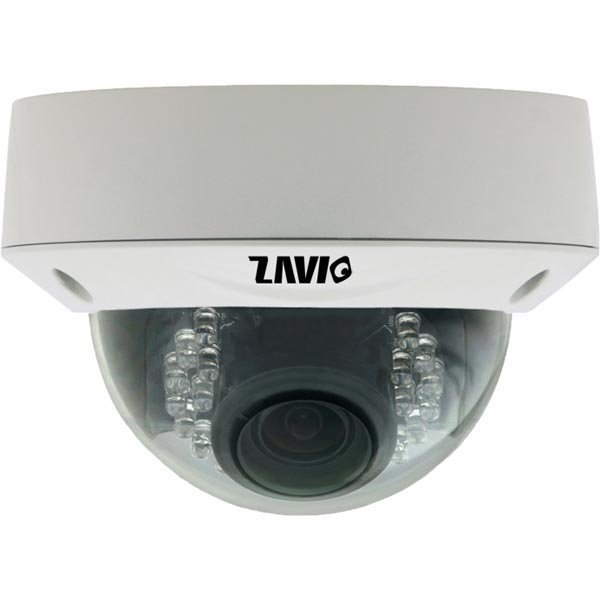 ZAVIO D7510 verkkokamera valvontaan 5MP vandaalisuojattu DOME
