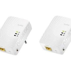 Zyxel PLA5205 Powerline Gigabit Ethernet Adapter Twin Pack