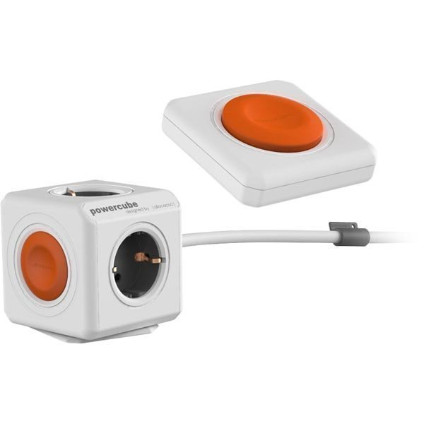 allocacoc PowerCube Remote - Virtapaneeli kaukosäätimellä