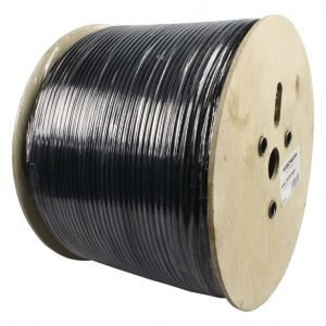 antennijohto kelalla 500 m musta