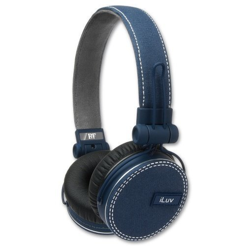 iLuv iHP635 BLU with Mic3 for iPhone Blue